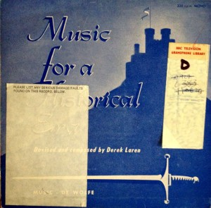 Music For A Historical Era cover art
