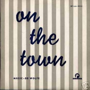 On The Town cover art.