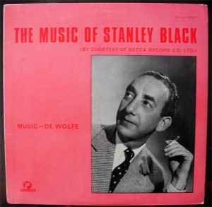 The Music Of Stanley Black cover art.