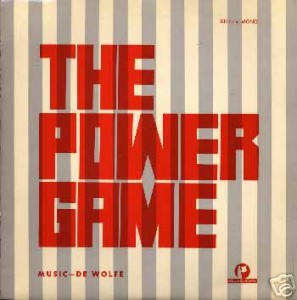 The Power Game cover art.