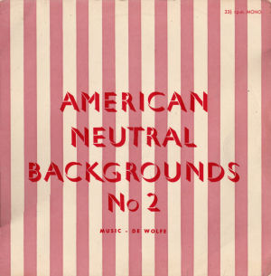 American Neutral Backgrounds No. 2 cover art.