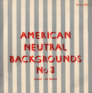 American Neutral Backgrounds No. 3 cover art.
