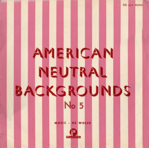 American Neutral Backgrounds No. 5 cover art.