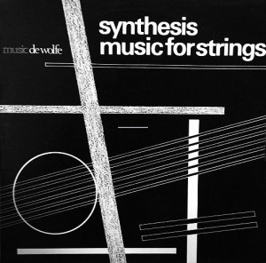 Synthesis Music For Strings cover art.