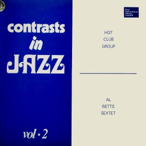 Contrasts In Jazz, Vol. 2 cover art.