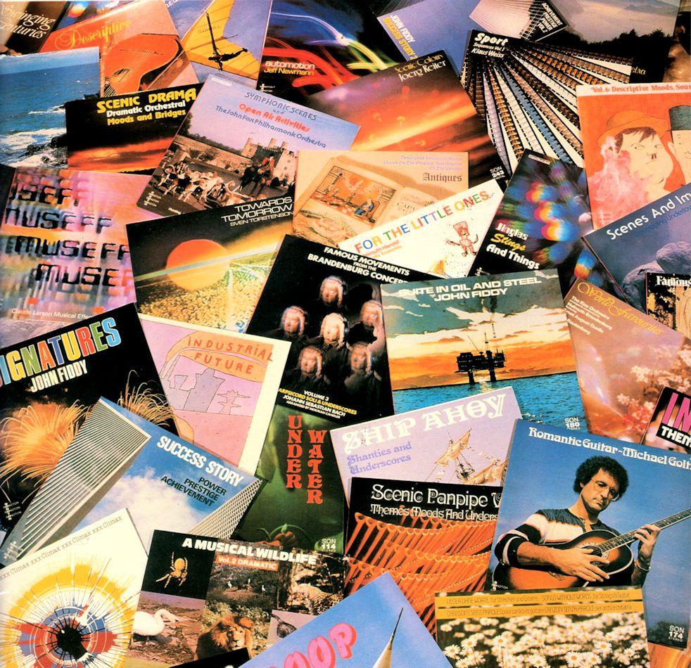 Sonoton LP Covers